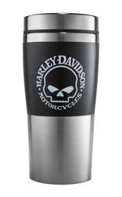 Harley-Davidson® Willie G Skull Insulated Travel Mug 16 oz, Coffee Mug 99223-16V