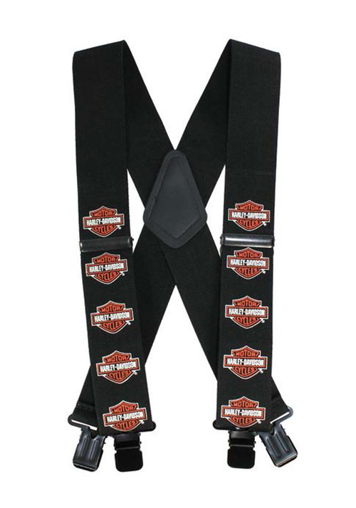 Harley-Davidson® Bar & Shield Suspenders, 42 Inch SUS302303