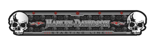 Harley-Davidson® Darts Throwing Line, Skull H-D Script Durable Line, Black 61953
