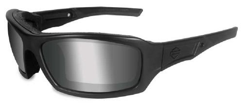 Harley-Davidson® Echo PPZ Silver Lens w/ Matte Black Frame Sunglasses HDECH07 - Wisconsin Harley-Davidson