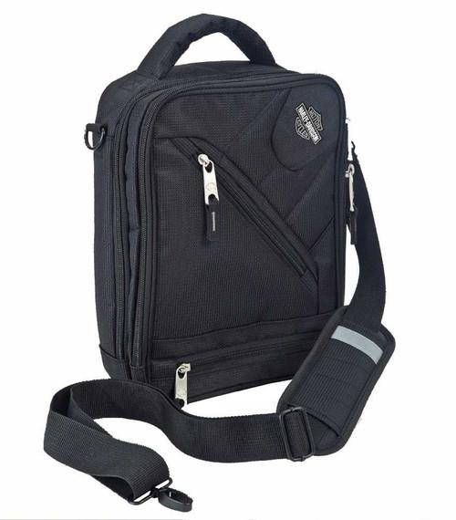 Harley-Davidson® Business & Travel Tote Bag, Black Brief Case 99202-BLK - C