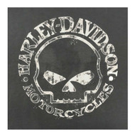 Harley-Davidson® Men's Willie G Skull Long Sleeve T-Shirt Tee Charcoal 30296652 - A
