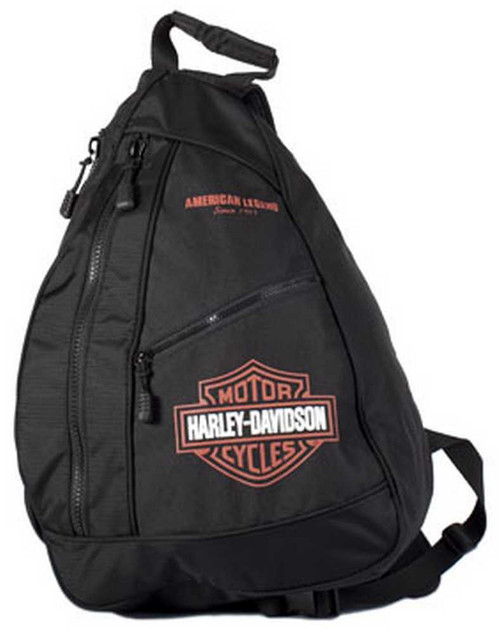 Harley-Davidson® Bar & Shield Sling Backpack BP1957S-ORGBLK