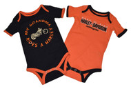 Harley-Davidson® Baby Boys' Creeper Set, Infant Grandma Rides a Harley 3059501