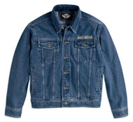 Harley-Davidson® Men's Bar & Shield Denim Jacket 99040-08VM - Wisconsin Harley-Davidson