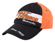 Harley-Davidson® Little Boys' Baseball Cap, Toddler Prestige Twill Hat 0270282 - Wisconsin Harley-Davidson