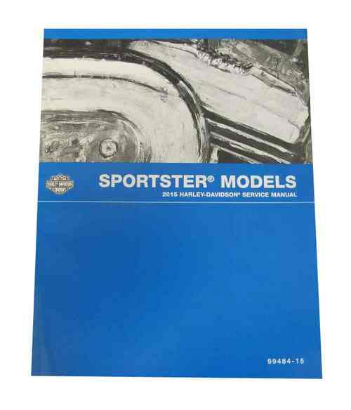 Harley-Davidson® 1979 - 1985 XL/XR Sportster Models Service Manual 99484-85