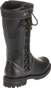 Harley-Davidson® Women's Melia Welted 10-Inch Motorcycle Boots, Side Lace D85054 - Wisconsin Harley-Davidson