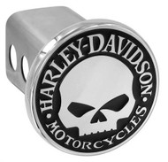 Harley-Davidson® Willie G. Skull Trailer Hitch Cover 2'' Stainless Steel HDHC240 - Wisconsin Harley-Davidson