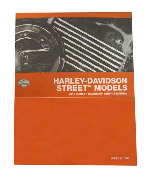 Harley-Davidson® 2015 Street Models Motorcycle Service Manual 99611-15B