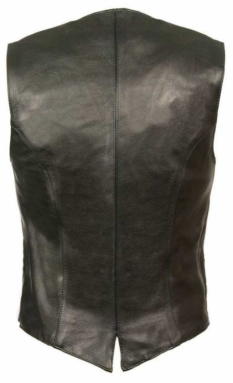 Milwaukee Leather Women's Classic Vest w/ Buffalo Snaps ML1253
