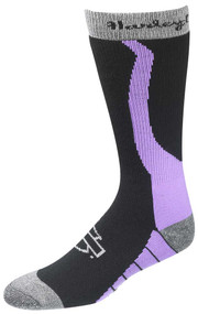 Harley-Davidson® Wolverine Women's Xtreme Wool Rider Socks (Purple, Medium)