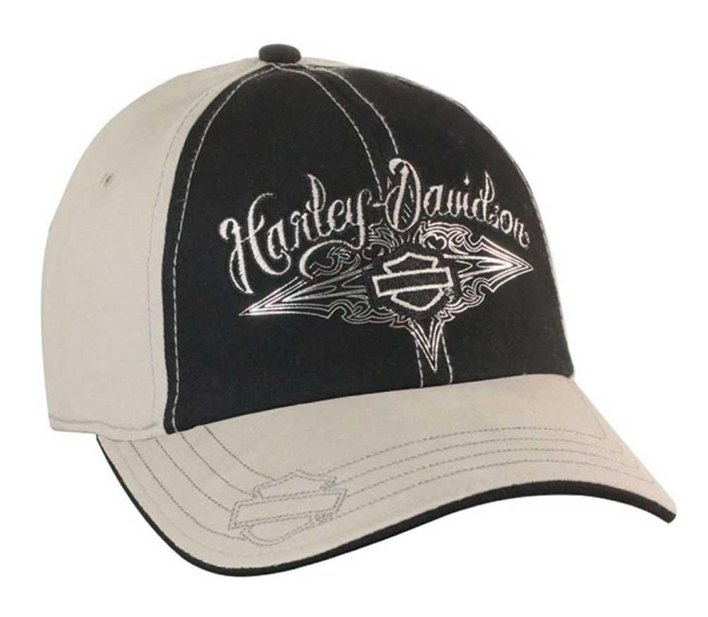 Harley Davidson 174 Womens Stretch Fit Baseball Cap Bar