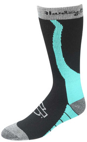 Harley-Davidson® Wolverine Women's Xtreme Wool Rider Socks (Teal, Medium)