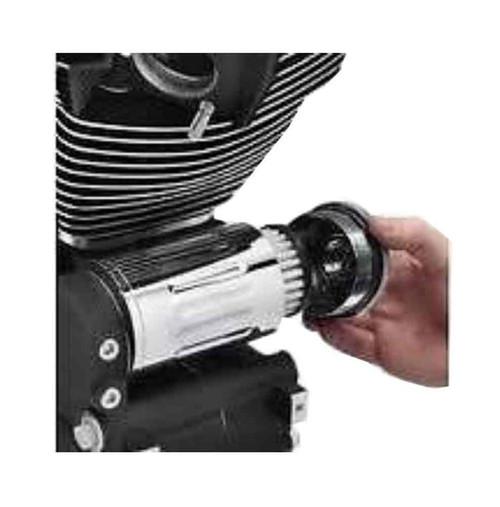 Harley-Davidson® Definitives Filtration System, Black Wrinkle Finish 63801-07