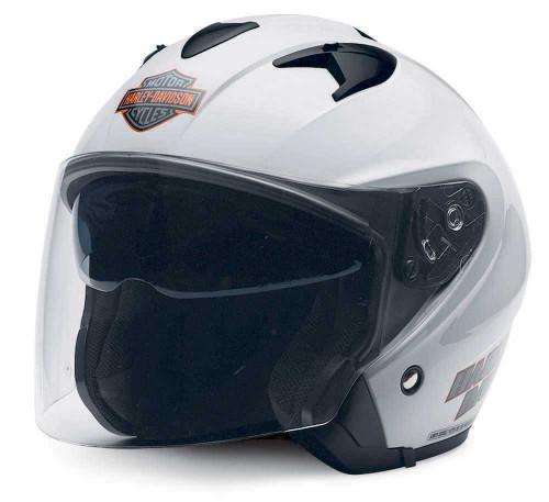 Harley-Davidson® Men's Visionary 3/4 Helmet With Sun Shield 98280-14VM