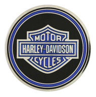 Harley-Davidson® Challenge Coin, Police Trans with Bar & Shield Logo 8003111 - A
