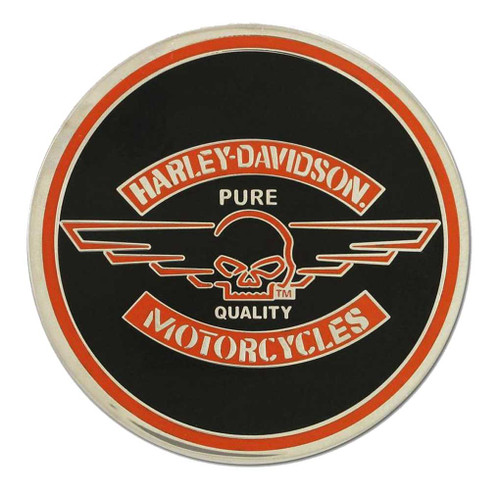 Harley-Davidson® Challenge Coin, Winged Willie G Skull Performance Coin 8003043 - A