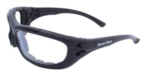 Guard-Dogs Dustbuster 4 Changers FogStopper Airsoft Eyewear, Black 180-71-01