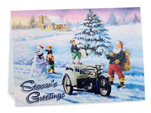 Harley-Davidson® Biker Santa Boxed Set of 12 Christmas Greeting Cards. 96853-16V