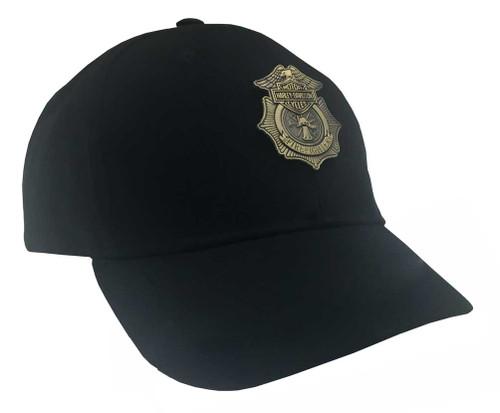 Harley-Davidson® Firefighter Original Black Baseball Cap, Velcro Closure BC126530 - A