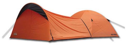Harley-Davidson® Dome Tent w/ Vestibule Motorcycle Storage, Orange HDL-10010A - Wisconsin Harley-Davidson