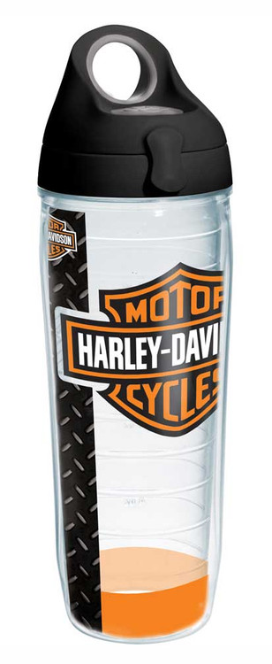 Harley-Davidson® Bar & Shield Water Bottle w/ Black Lid, 24 oz. Bottle 1215926