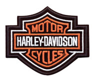 Harley-Davidson® Bar & Shield Patch, 9-1/4'' W x 7-11/16'' H EMB302386