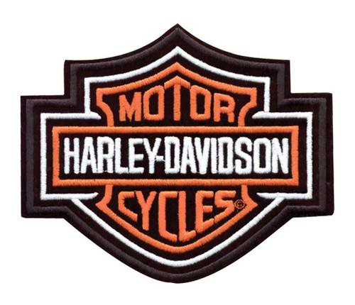 Harley-Davidson® Bar & Shield Patch, 9-1/4'' W x 7-11/16'' H EMB302386