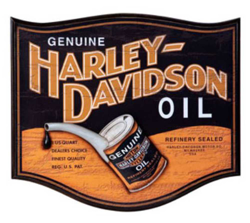 harley-davidson signs for home, office, gameroom and garage