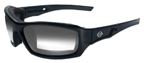 Harley-Davidson® Echo LA Grey Lens w/ Gloss Black Frame Sunglasses HDECH05 - Wisconsin Harley-Davidson
