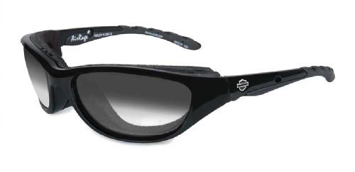 Harley-Davidson® Airrage LA Grey Lens w/ Gloss Black Frame Sunglasses HD696