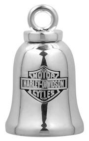 Harley-Davidson® Silver Classic Bar & Shield Logo Ride Bell HRB013