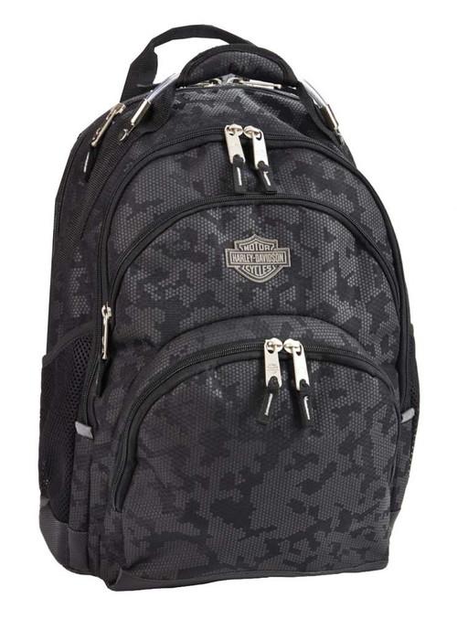 Harley-Davidson® Bar & Shield Steel Backpack, High-Density Nightvision 99220 - A