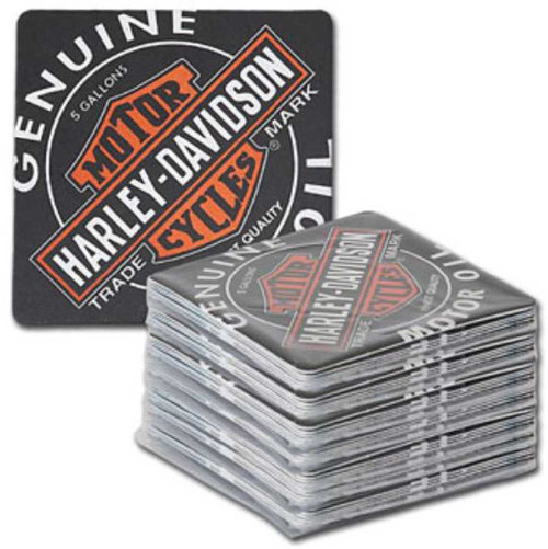 Harley-Davidson® Coaster Refill Oil Can Bar Caddy - Pack of 50 HDL-18513-C