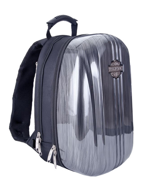 Harley-Davidson® Athalon Molded Backpack Steel Gray 16x12x8 99917-SG - Wisconsin Harley-Davidson
