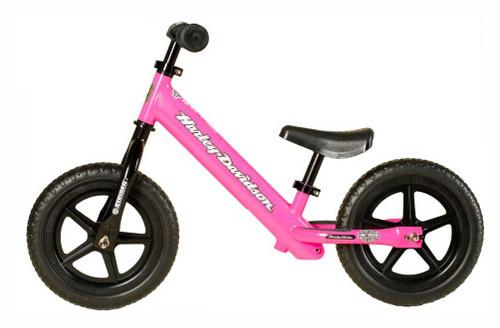 Harley Davidson Strider Bike Girls Youth Pink No Pedal Balance
