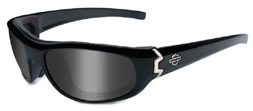 Harley-Davidson® Curve Grey Lens w/ Gloss Black Frame Sunglasses HDCUR01 - Wisconsin Harley-Davidson