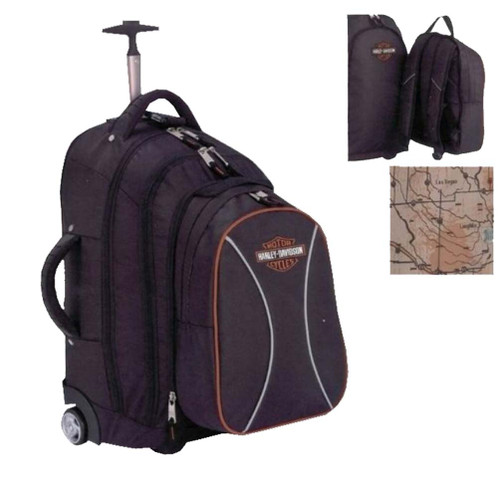 Harley-Davidson® Bar & Shield Wheeled Backpack 99618