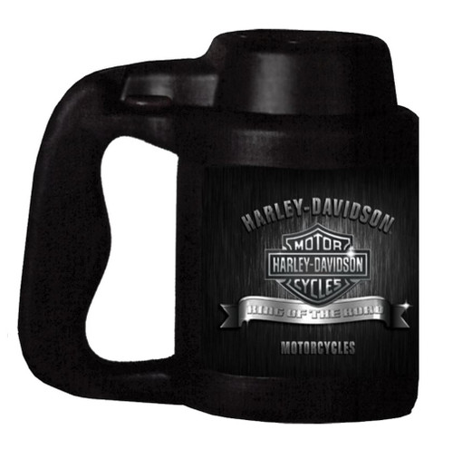 Harley-Davidson® Can Stein, King Of The Road Bar & Shield, Black CT120330