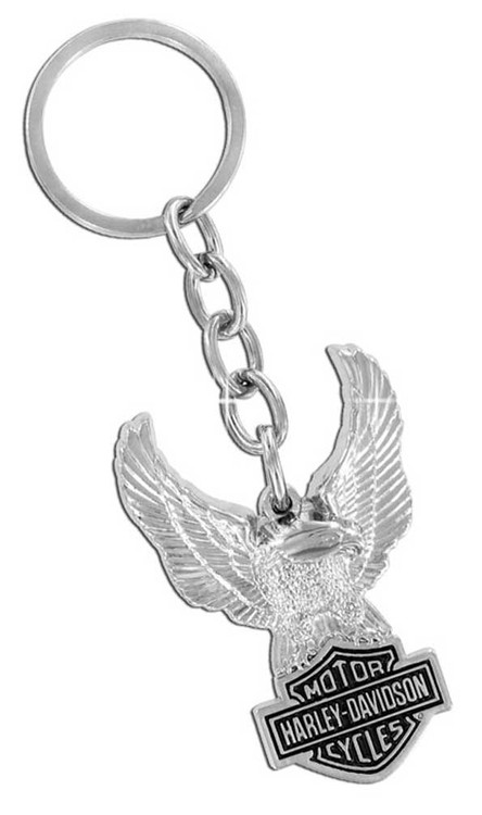 Harley-Davidson® Eagle Bar & Shield Key Chain HDKD102