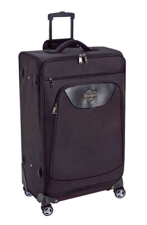 Harley-Davidson® 21 in Carry-On Luggage, Midnight Rider II Collection Black 99722 - A