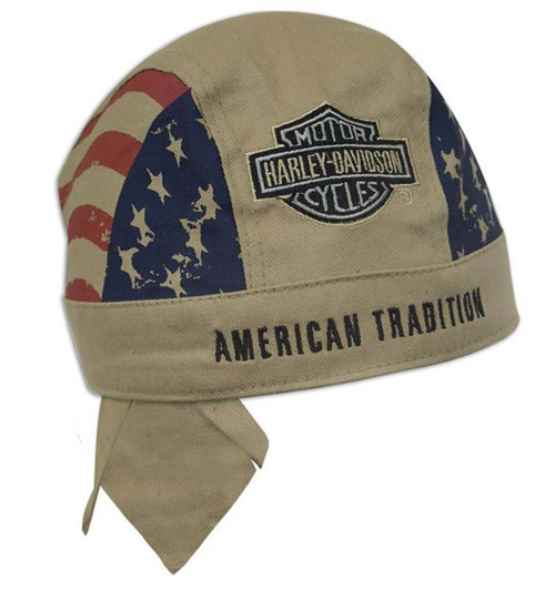 Harley-Davidson® American Tradition Khaki Head Wrap H417604