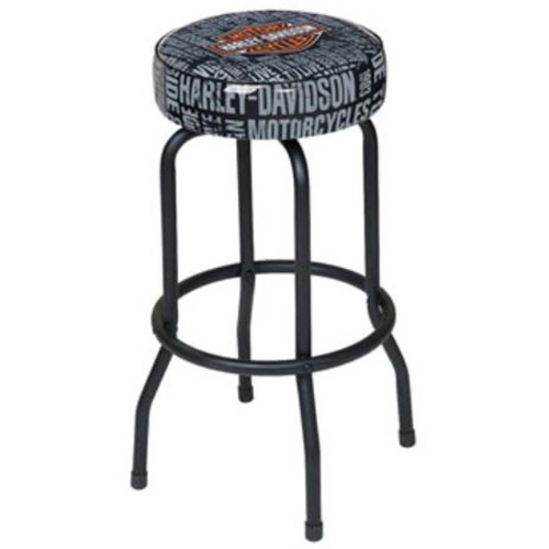 Harley-Davidson® Bar & Shield Repeat Bar Stool HDL-12127 - A