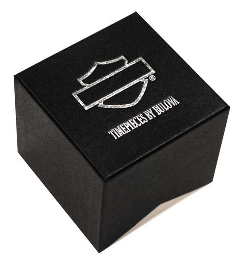 Harley-Davidson®  Women's Bulova Bar & Shield Wrist Watch 78L109 - A