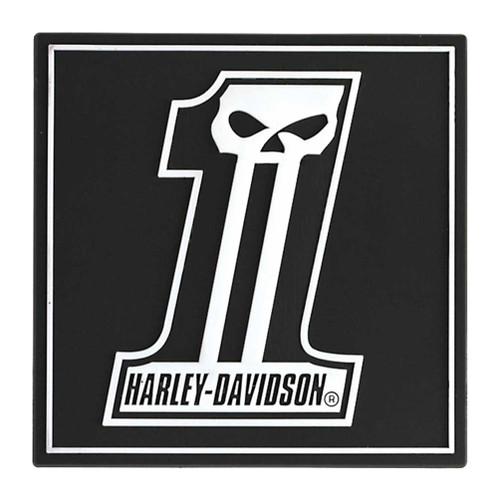 harley davidson magnet long tooth 1 skull logo rubber tile magnet rh wisconsinharley com harley 1 logo harley 1 logo