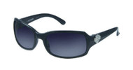 Harley-Davidson® Womens Sun Lifestyle Grey w/ Grey Lens Sunglasses HDS5007GRY-35