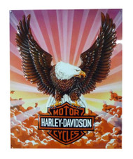 Harley-Davidson® Tin Sign, Bar & Shield Eagle with Clouds, 14 x 17 inch 2010041 - Wisconsin Harley-Davidson