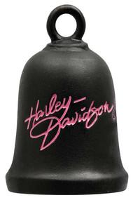 Harley-Davidson® Pink Label Bar & Shield Black Ride Bell HPZ001