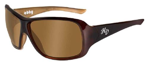 Harley-Davidson® Abby Bronze Lens w/ Espresso Frame Sunglasses HDABB01 - Wisconsin Harley-Davidson